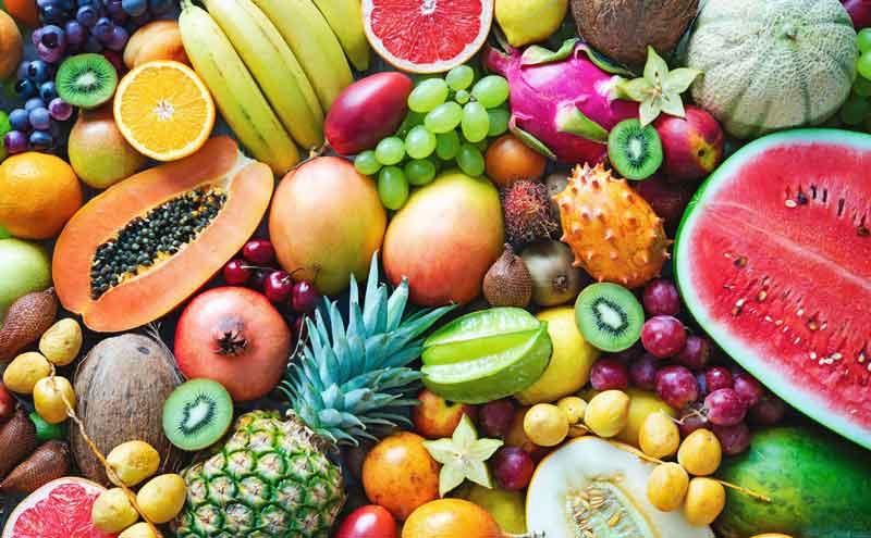lista de frutas em ingles - fruits