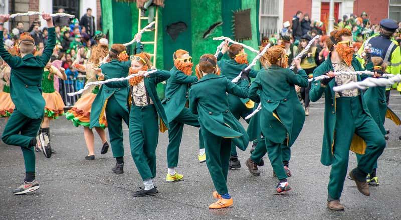 Curiosidade da Irlanda o Pratrick's Day
