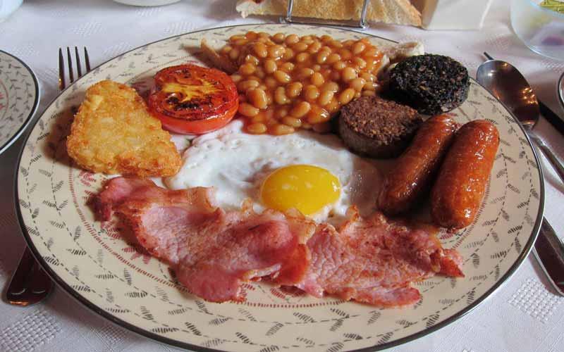 Tradições da Irlanda, comida
