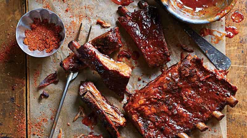 Barbecue Ribs é um prato dos EUA