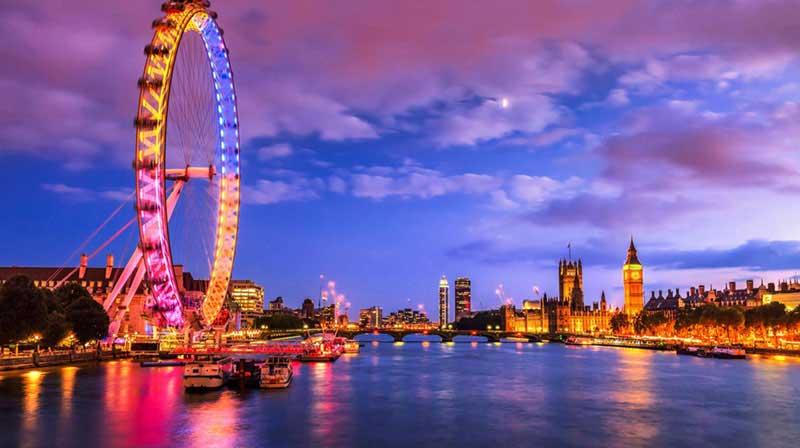 London Eye na Inglaterra