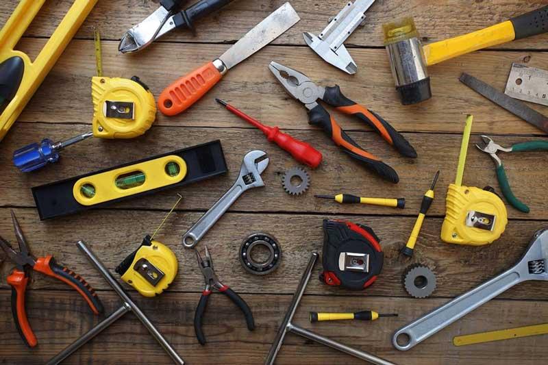 Nomes de ferramentas em inglês