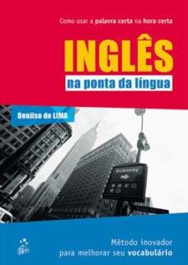 Livro de inglês na ponta da língua