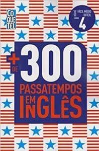 Livro de passatempo em inglês