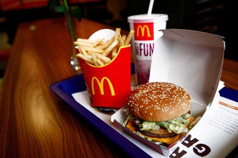 McDonald's em inglês