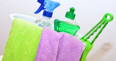 Principais Nomes de Material de Limpeza em Inglês