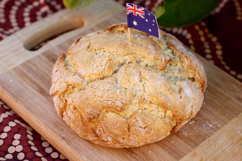 Pratos típicos da Austrália - Damper