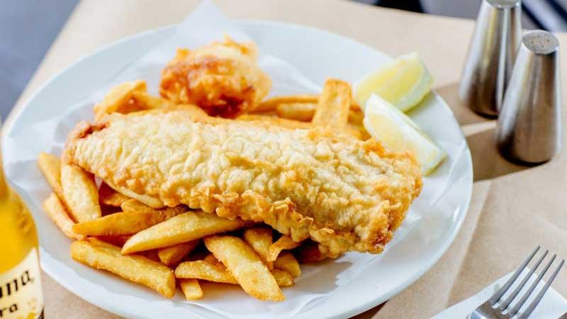 Pratos típicos da Austrália - Fish & Chips