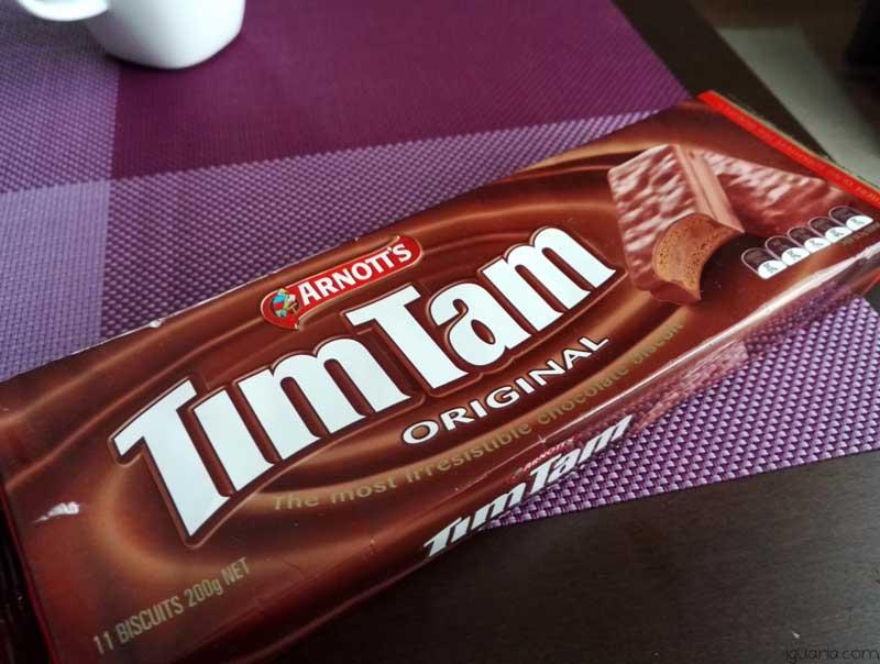 Comidas da Austrália - Tim Tam