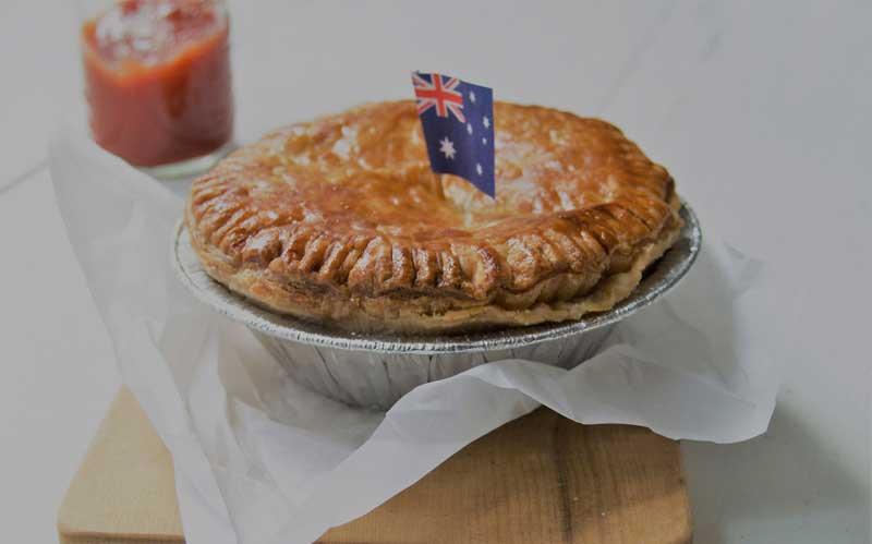 Comidas típicas da Austrália - Meat Pies