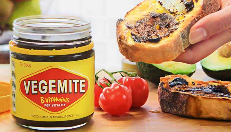 Pratos típicos da Austrália - Vegemite