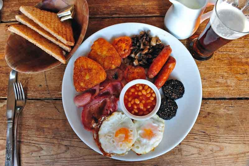 Café da manhã da Irlanda