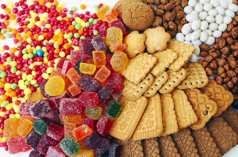 Nomes de doces em inglês