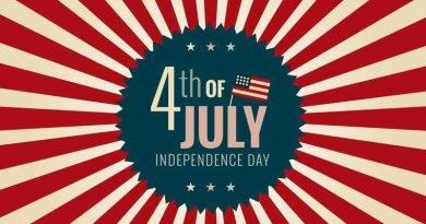 Feriado de 4 de Julho nos Estados Unidos - Curiosidades