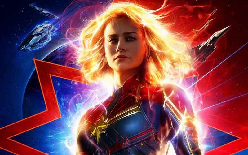 Capitã Marvel em inglês
