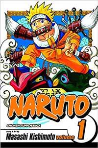 aprender inglês com mangá Naruto