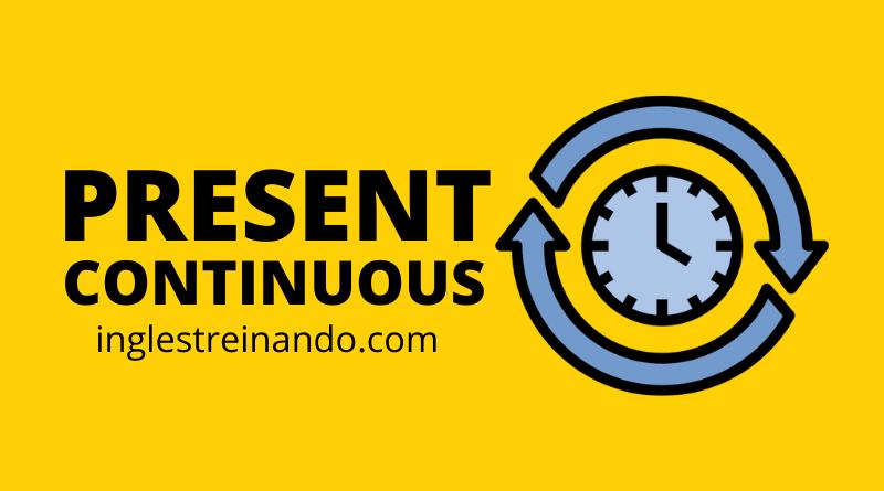 Regras Present Continuous