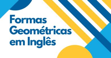 Nomes das principais forma Geométricas em Inglês