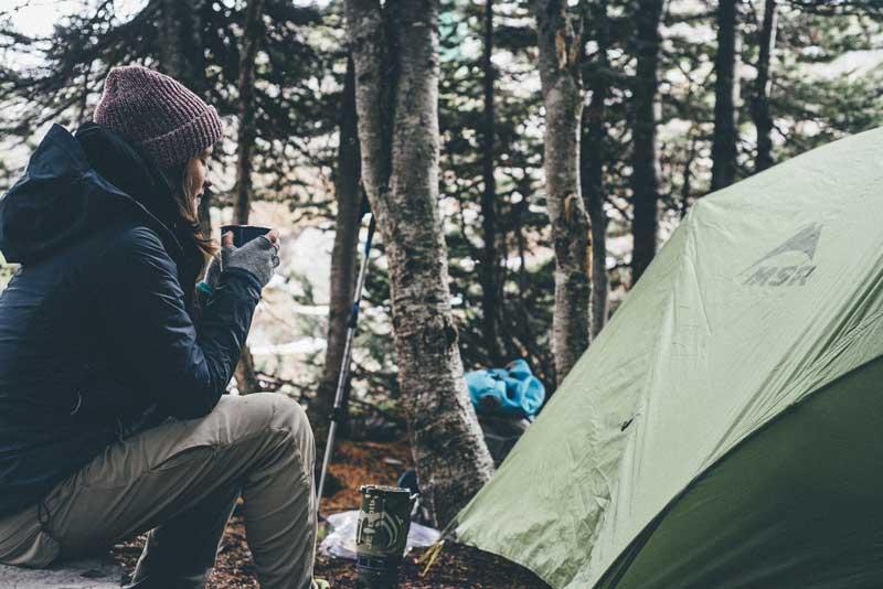 Vocabulário sobre acampar em inglês