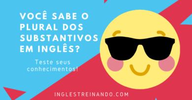 Plural dos Substantivos em Inglês: Teste seus conhecimentos!