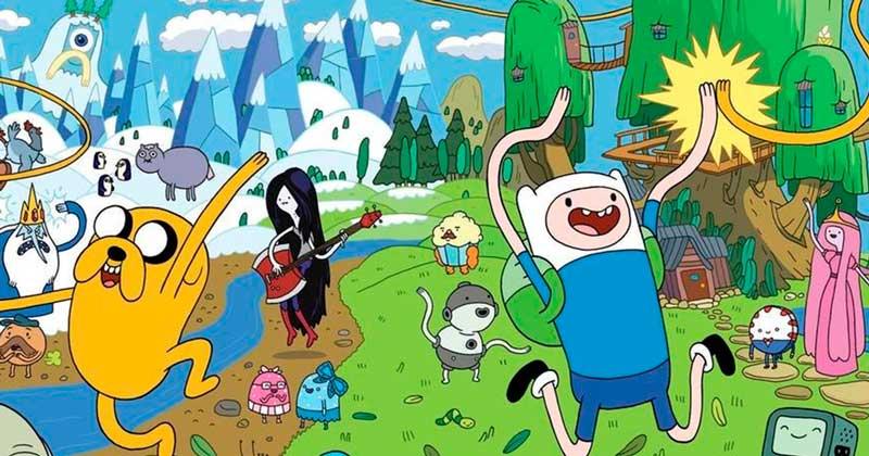 Desenho animado em inglês: Hora da Aventura