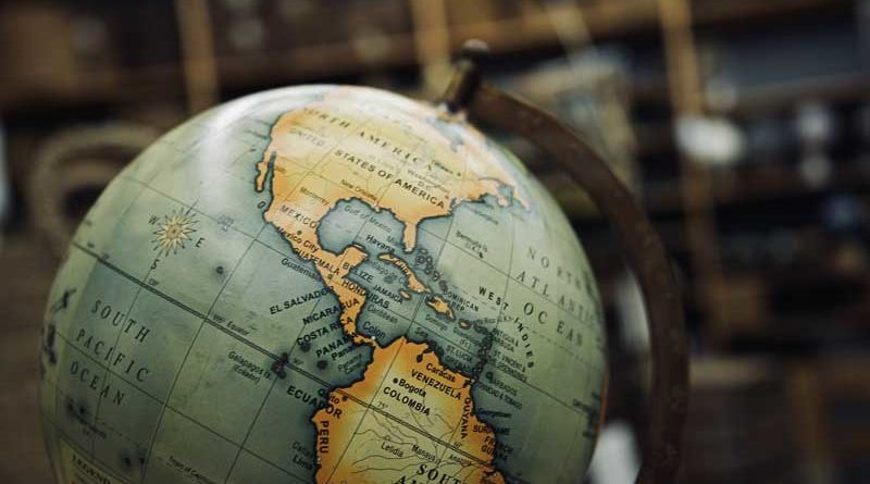 Continentes em Inglês