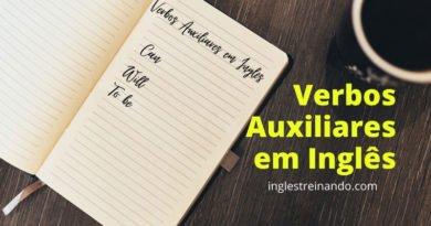 Verbos Auxiliares em Inglês: Conheça os principais