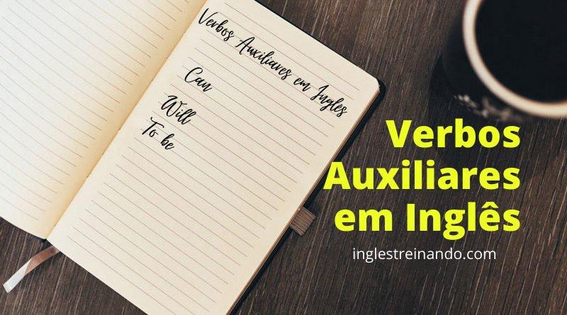 Verbos auxiliares em ingles