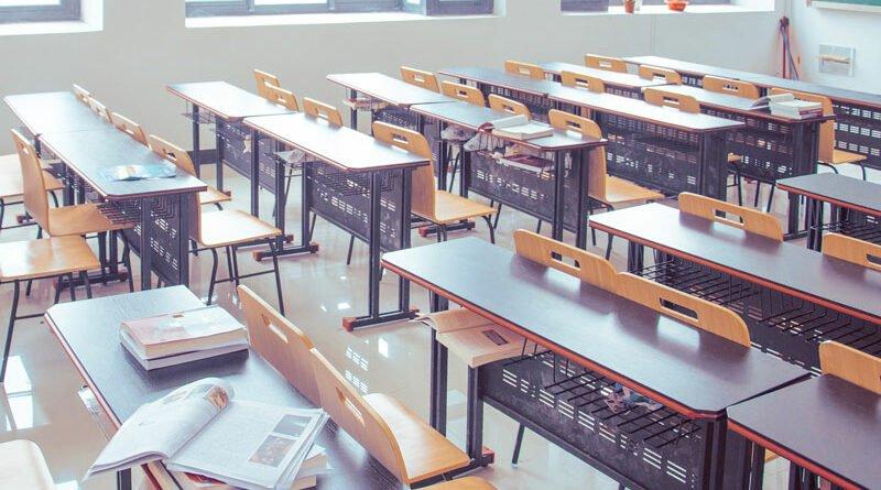 Escola em inglês